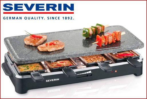 Oferta raclette grill con piedra Severin RG 2343