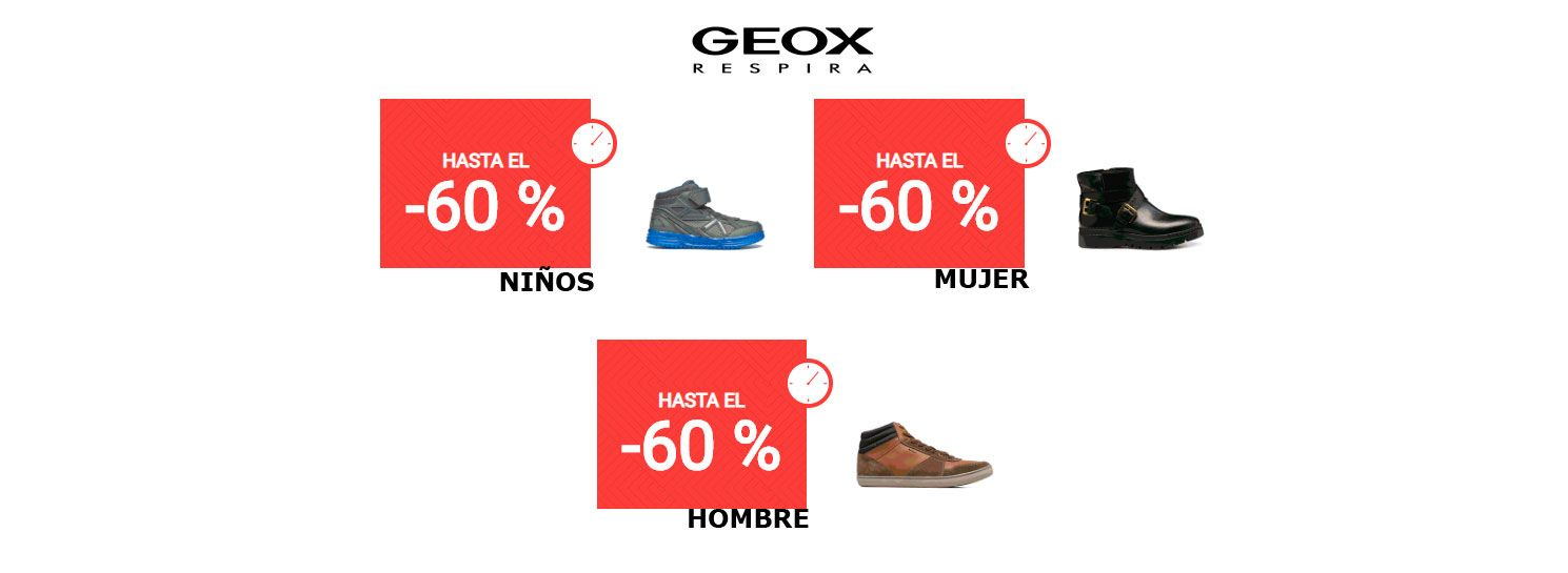 online store ba63e dea51 De En El Hasta Con Promoción Geox Descuentos 60 Sarenza Calzado Udffw1xq