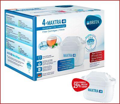 Oferta pack de 4 filtros Brita MAXTRA +