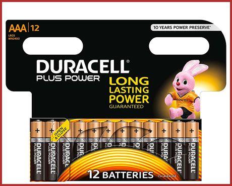 Oferta pilas alacalinas Duracell Plus Power baratas