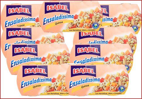 Oferta 9 pack's de Isabel Ensalada de quinoa con atún baratos