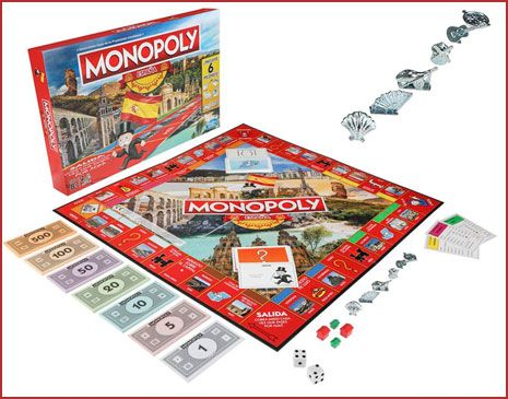Oferta Monopoly ciudades españolas barato