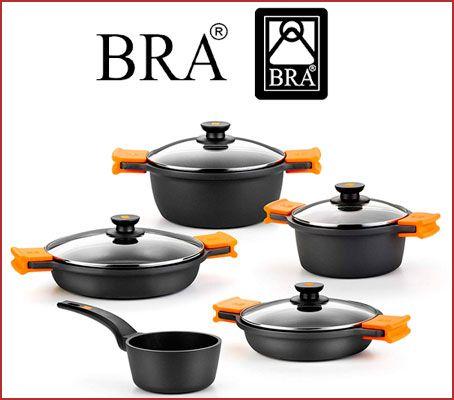 Oferta batería de cocina BRA Efficient 5 piezas barata