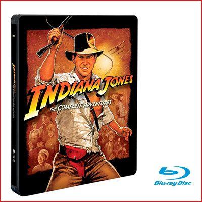 Oferta colección completa Indiana Jones Blu-ray barata