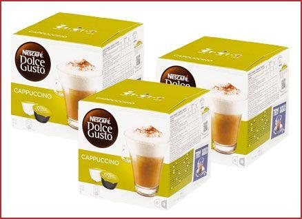 Oferta pack de 48 cápsulas Nescafé Dolce Gusto Café Cappuccino barato