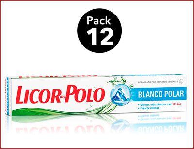 Oferta 12 tubos de Licor del Polo Blanco Polar