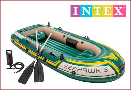 Oferta Barca hinchable Intex Seahawk 3
