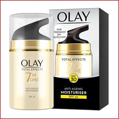 Oferta Olay Total Effects Crema Hidratante Anti-Edad SPF 3