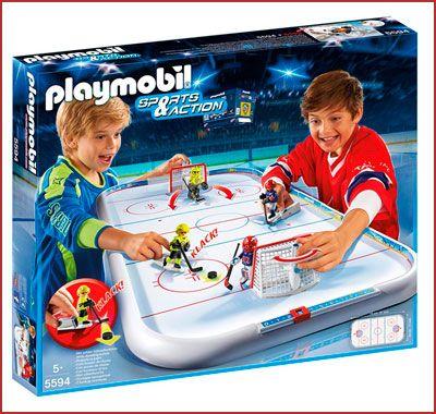 Oferta Playmobil Campo de Hockey Sobre Hielo