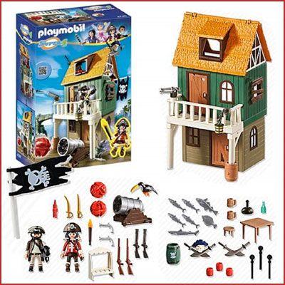 Oferta Playmobil fuerte pirata camuflado Ruby barato