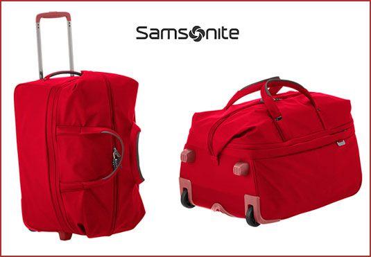 bolsa de viaje con ruedas Samsonite Uplite