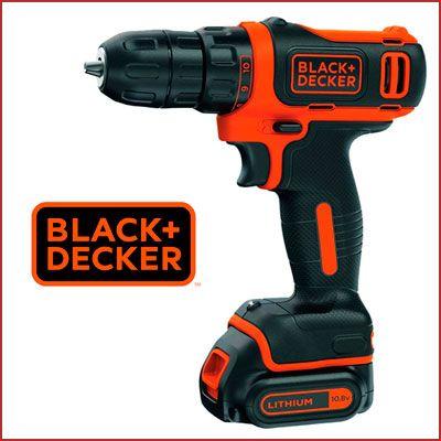 Oferta taladro atornillador sin cable Black+Decker 10.8V