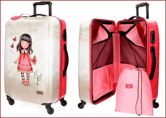 Oferta maleta Gorjuss Time To Fly barata