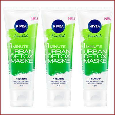 Oferta mascarilla Nivea Urban Skin Detox