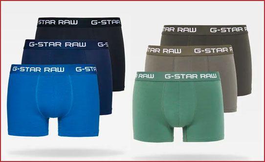 Oferta pack de 3 bóxers G-Star Raw Classic Trunks