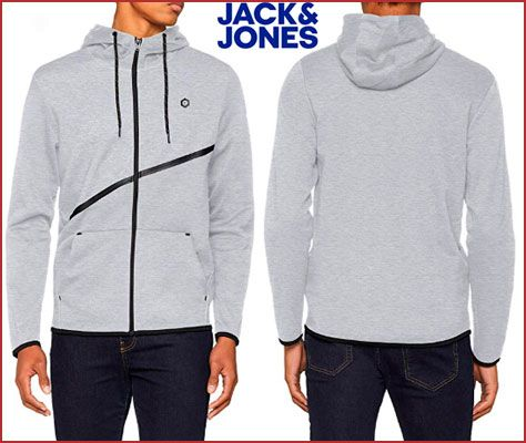 Oferta sudadera JACK & JONES Carlo barata amazon