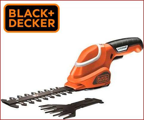Oferta cortasetos a batería BLACK+DECKER