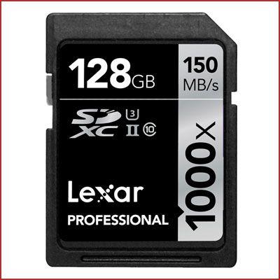 Oferta tarjeta Lexar Professional 1000X