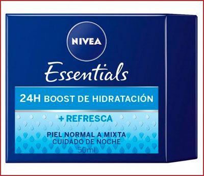 Oferta crema de noche regeneradora Nivea 24H Boost barata