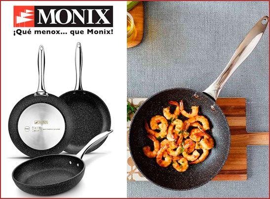 Oferta lote de sartenes Monix Mineral