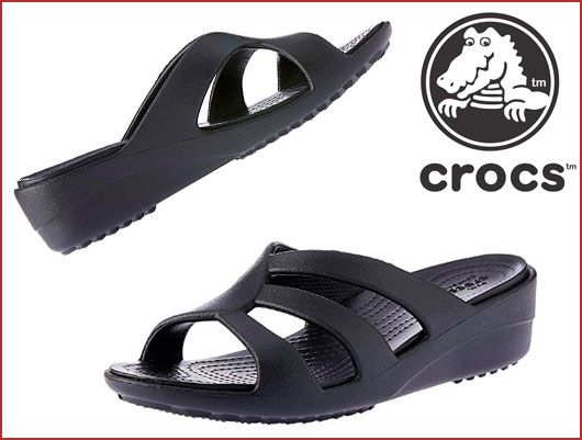 Oferta sandalias Crocs Sanrah Strappy Wedge