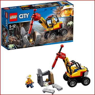 Oferta LEGO City Mina Martillo hidráulico