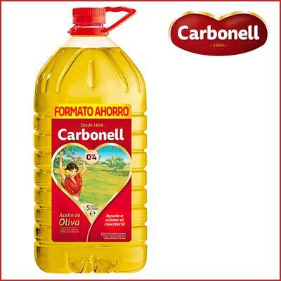 Oferta aceite de Oliva Carbonell Suave 5 litros barato