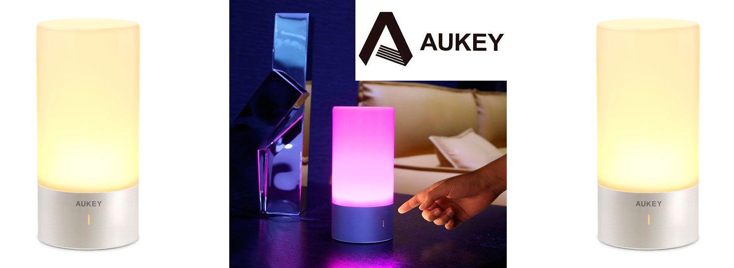 mesa Oferta código por 18 de euros lámpara 89 con de AUKEY Ybyfgv76