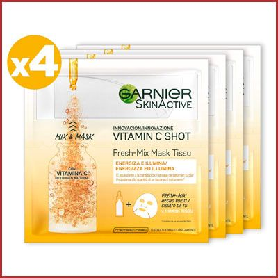 Oferta mascarilla Garnier Vitamin C barata