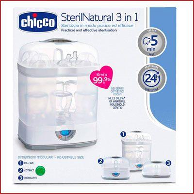 Oferta esterilizador Chicco Steril Natural 3 en 1 barato
