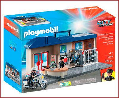 Oferta Playmobil Comisaría Maletín
