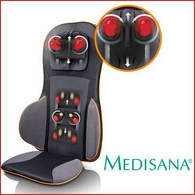 Oferta respaldo masajeador Medisana MC825 barato