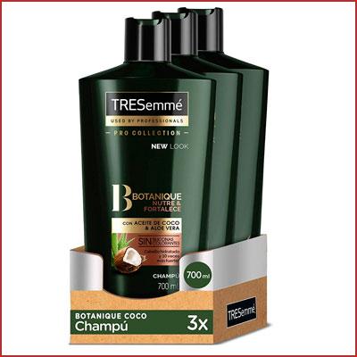 Oferta pack de 3 champús TRESemmé Botanique
