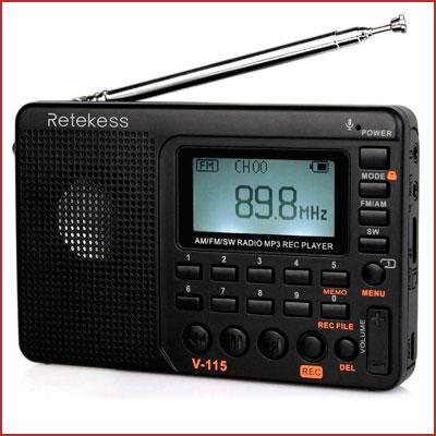 Oferta radio portátil Retekess V115 barata