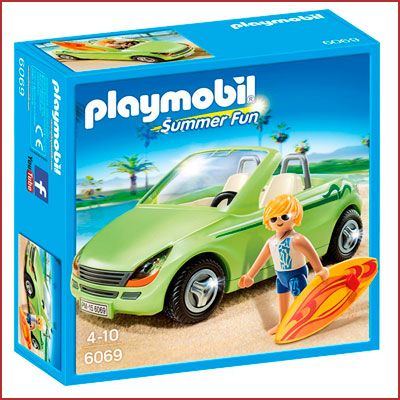 Oferta Playmobil Surfista con descapotable barato