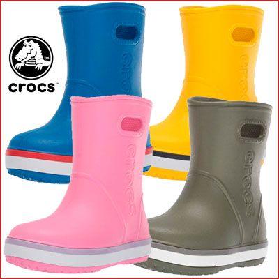Oferta botas para niños Crocs Crocband Rain Boot