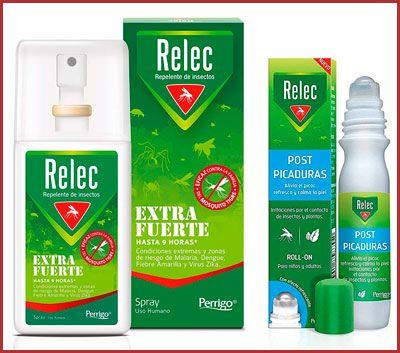 Oferta repelente de mosquitos Relec Extra Fuerte + post picaduras