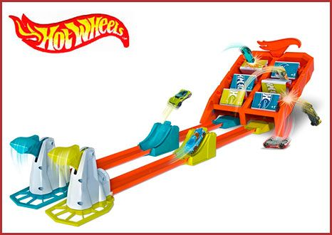 Oferta pista Mattel Hot Wheels Campeón de choques barata amazon