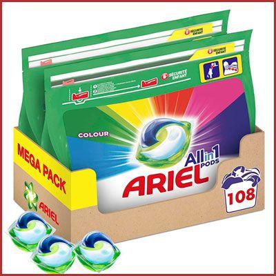 Oferta Ariel All in 1 Pods Colours barato amazon