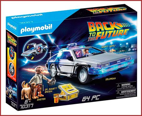 Oferta Playmobil Back to The Future Delorean