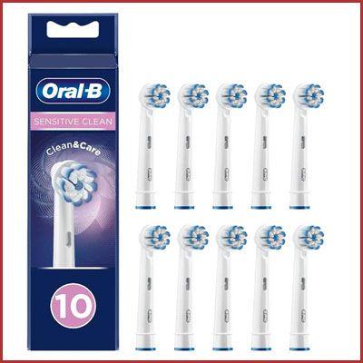 Oferta pack de 10 recambios Oral-B Sensitive Clean baratos amazon