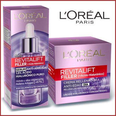Oferta Set L'Oréal Paris Revitalift Filler barato amazon