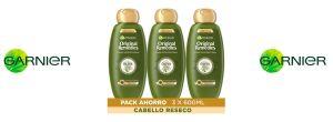 Oferta champú Garnier Original Remedies Oliva Mítica barato