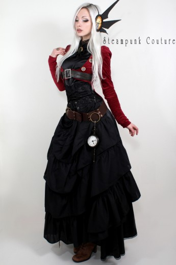 Dark Red Tailcoat