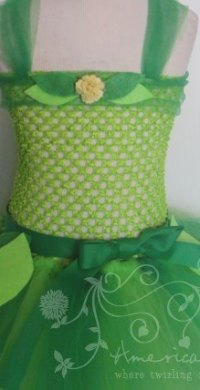 Tinker Bell Tutu Dress for Girls