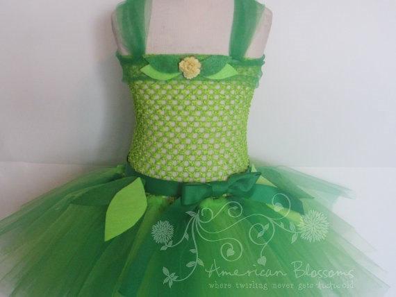 Tinker Bell Tutu Dress for Girls