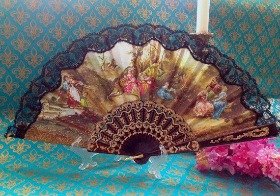 Rococo Fan