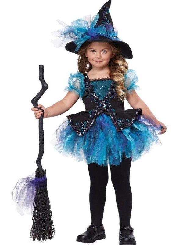 Darling Little Blue Toddler Halloween