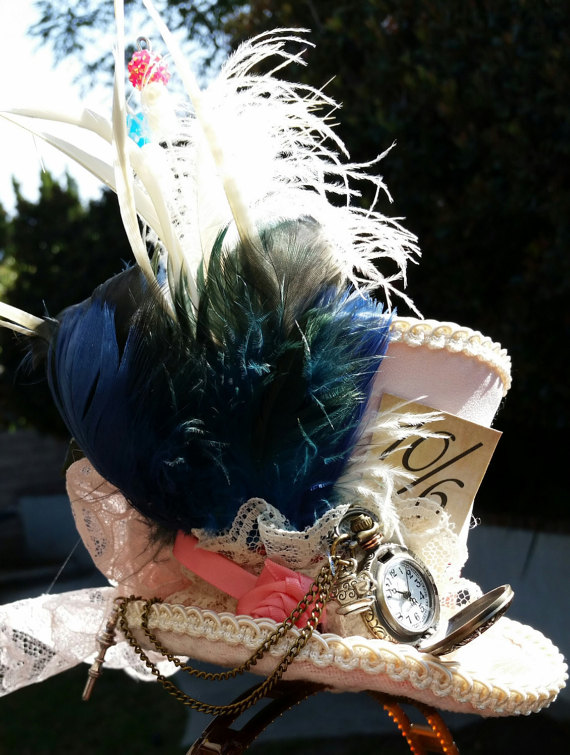 "Alt=""alice in wonderland steampunk hat"""