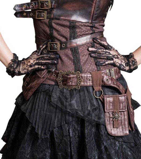 "alt=""steampunk belt satchel"""